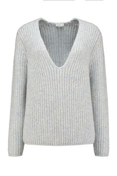 Closed Pullover in Ice Blue - C96347 94T 22 593