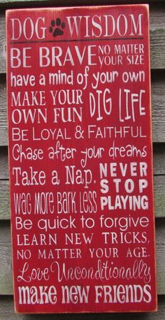 dog sign, funny dog sign, rustic decorm primitvie home decor, dog wisdom sign, hand painted sign, wood signs #dogdiy