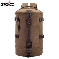 ETALOO Large capacity man travel bag mountaineering backpack #612