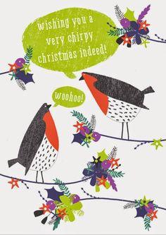 Chirpy Christmas!