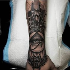ideas egyptian tattoo sleeve for 2019 Egyptian Eye Tattoos, Egyptian Tattoo Sleeve, Forearm Sleeve Tattoos, Best Sleeve Tattoos, Tattoo Sleeve Designs, Tattoo Designs Men, Man Arm Tattoo, Best Tattoo, Egyptian Goddess Tattoo