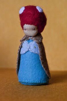 felt, craft, gnome, waldorf https://www.facebook.com/Colorspell