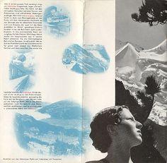 """Travel brochure Herbert Matter for """"Interlaken, Schweiz,"""" 1935 - View 8"""