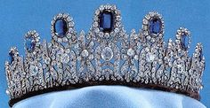Jewels Leuchtenberg Sapphire Tiara in the Swedish royal collection. The matching necklace is even more stunning.Leuchtenberg Sapphire Tiara in the Swedish royal collection. The matching necklace is even more stunning. Royal Crown Jewels, Royal Crowns, Royal Tiaras, Royal Jewelry, Tiaras And Crowns, Jewellery, Diamond Tiara, Sapphire Diamond, Sapphire Necklace