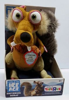 Ice Age 4, Ice Age Movies, Doll Toys, Dolls, Plush, Teddy Bear, Animals, Ebay, Baby Dolls