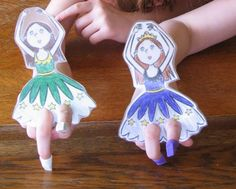 Summer Reading With Activities at the Back of the Book - Day 4: Pencil Eraser Ballet Slippers