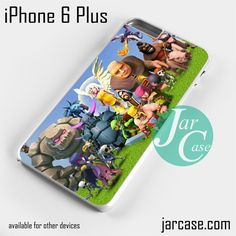 Clash of Clans All Character (3) Phone case for iPhone 6 Plus and other iPhone devices