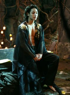 Lee Soo Hyuk in Scholar Who Walks the Night 》Uh, when did playing a sadistic psycho vampire morph into an insanely hot, why do I find him so attractive thing!? 》