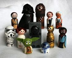 Moms of boys...you NEED to check out these Star Wars craft ideas. You will be their hero FOREVER! HA!