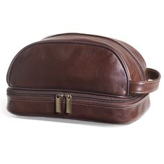 e42ef55fc8 The GI s Leather Toiletry Kit. Leather GiftsLeather PouchLeather  CraftLeather MenHammacher SchlemmerDopp ...