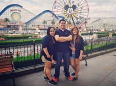 At the happiest place on earth with the people I love  #family #siblings #disneyland by ricarsj