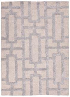 "City Gray Geometric Rug. 3""6"" x 5""6"". $292.00"