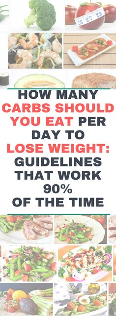 HOW MANY CARBS SHOULD YOU EAT PER DAY TO LOSE WEIGHT..!! GUIDELINES THAT WORK 90% OF THE TIME.! Readd!!!
