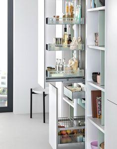 38 Espaços inteligente Oculto Cozinha Armazenamento | DigsDigs