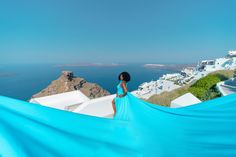 Artistic photoshoots & flying dress rental in Santorini, Greece. Magic pictures from the most romantic island of the world! Greece Photography, Dress Rental, Greece Holiday, Romantic Getaways, Holiday Photos, Most Romantic, Female Portrait, Unique Dresses, Videography