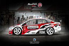 Racing Design & Illustration by area75 , via Behance