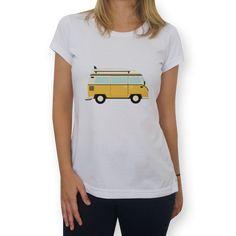 Camiseta Kombi de @raccoon   Colab55