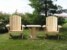Adirondack Chair Kit - Big Boy Size