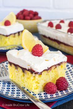Raspberry Lemon Cake