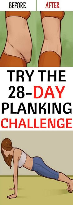 Try the 28-Day Planking Challenge and Melt Belly Fat and More! – Green Healthy World