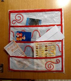DIY Cabinet Door Pockets DIY Paper DIY Craft