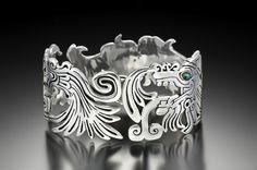 Home - Claudio Starzak Jewelry Metal Jewelry, Gold Jewelry, Silver Bracelets, Cuff Bracelets, Turquoise Eyes, Custom Wedding Rings, Metal Art, Handmade Silver, Pendants
