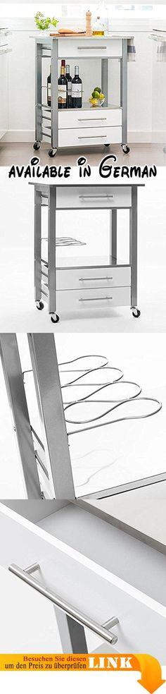B078TDMXHB  DELLT- Küchenwagen Regale Mikrowellenofen Rack - küchenwagen mit schubladen