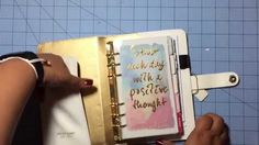 VIDEO: Websters Pages Planner (white) unboxing