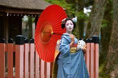 Maiko Mamefuji, June 2015 舞妓まめ藤 梅雨空に : ちょっとそこまで