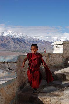 Monasterio de Ladakh, en los valles del Tibet pertenecientes a la India.