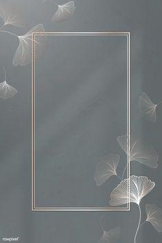 Phone Wallpaper Design, Framed Wallpaper, Flower Background Wallpaper, Flower Backgrounds, Pink Glitter Background, Iphone Wallpaper, Ginkgo, Poster Background Design, Copper Frame