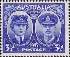 Australian Stamps Australia 1945 Duke and Duchess of Gloucester Fine Used SG 211 Scott 199 Buy Stamps, Rare Stamps, Stamp Values, Australia Map, Visit Australia, Commemorative Stamps, Going Postal, Gloucester, Chor