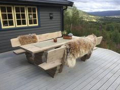 Outdoor Furniture Sets, Outdoor Decor, Exterior, Cabin, Home Decor, Decoration Home, Room Decor, Cabins, Cottage