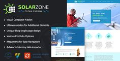 Solar & Eco Friendly Business WordPress Theme  We are delighted to introduce our Solar Zone WordPress theme which will be highly suitable for all the eco friendly businesses.Solar Zone is for envir...