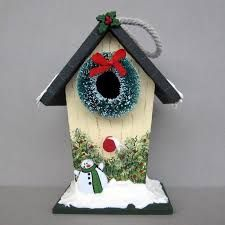 Resultado de imagen para casas navideñas en mdf