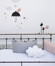 Muurstickers Kinderkamer Lilipinso: Paraplu