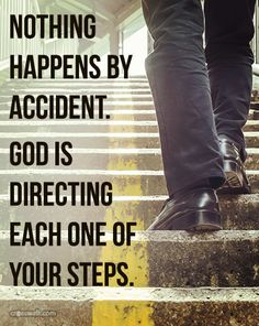 God Is Directing your Steps !