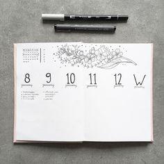 Bullet Journal Inspo, Bullet Journals, Posts, Bird, Inspired, Doodles, Notebook Organization, Creative, Pen And Paper