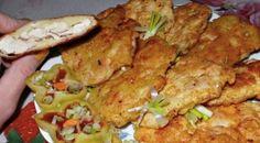 Chicken steak in potato batter / Culinary Universe Chicken Steak, Tandoori Chicken, Healthy Diet Recipes, Cooking Recipes, Czech Recipes, Ethnic Recipes, Good Food, Yummy Food, Food Design