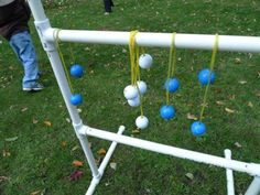 I recently had the pleasure of playing a family game of ladderball (aka bolo toss, ladder golf) using some basic homebrew hardware, and can say firsthand -