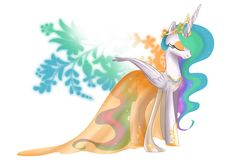 Princess of Equestria - Celestia by selinmarsou.deviantart.com on @deviantART