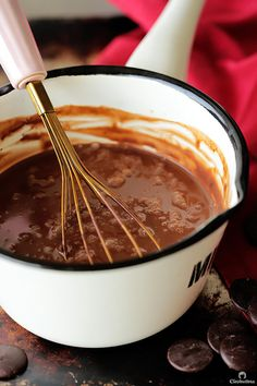 Rich Italian Hot Chocolate | Cleobuttera Holiday Snacks, Christmas Snacks, Christmas Punch, Christmas Ideas, Hot Chocolate Bars, Hot Chocolate Recipes, Dessert Drinks, Dessert Recipes, Drink Recipes
