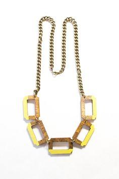 Resort Chain Necklace por vozcollective en Etsy