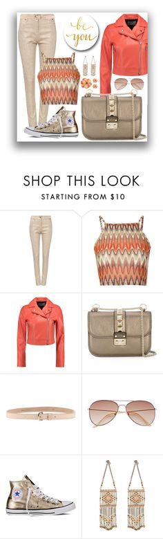 """If I had a Valentino's bag..."" by pomy22 ❤ liked on Polyvore featuring Biba, Glamorous, T By Alexander Wang, Valentino, Dsquared2, H&M, Converse, Leather, bag and valentino"