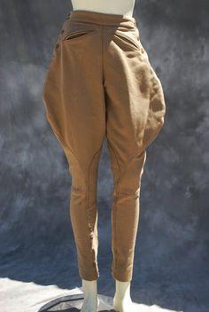 Vintage 40's english riding pants jodhpurs breeches equestrian pants Sm by thekaliman