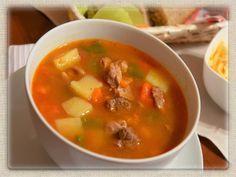 Domowa kuchnia Aniki: Zupa gulaszowa z chili