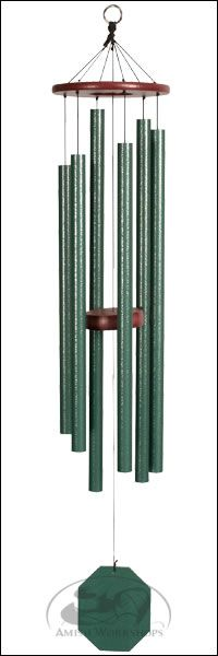 Forest Edge Evergreen Wind Chime
