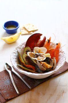 The Clambake, New England's seafood