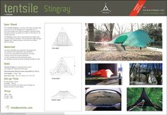 Tree Tent. Looks Pretty Cool but Pretty Expensive: http://www.tentsile.com/pages/specs