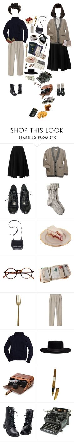 """""""Let Me Read To You"""" by silentmoonchild ❤ liked on Polyvore featuring Margaret Howell, Rochas, Steven Alan, Zara, Fat Face, The Row, Timex, Retrò, Lene Bjerre and Caffé"""